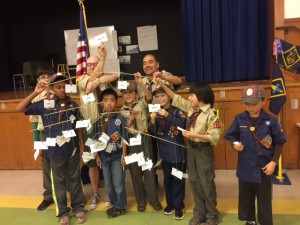 Pack 104 Family Tree Mobile